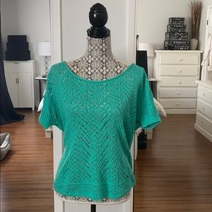 Hollister Green Knit Top